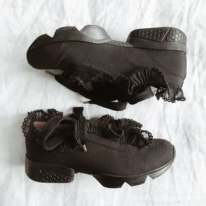Ganni Harriet Ruffle Sneakers